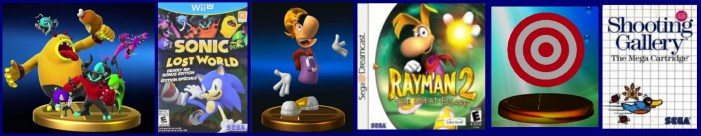 review_sort_of_smash_bros_trophies_deadly_six_rayman_target