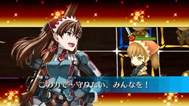 Valkyria Chronicles x Chain Chronicles collab