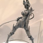 7th Dragon III Rune Knight figure by VERTEX