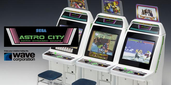 Wave starts SEGA Astro City model kit preorders! | SEGA Nerds