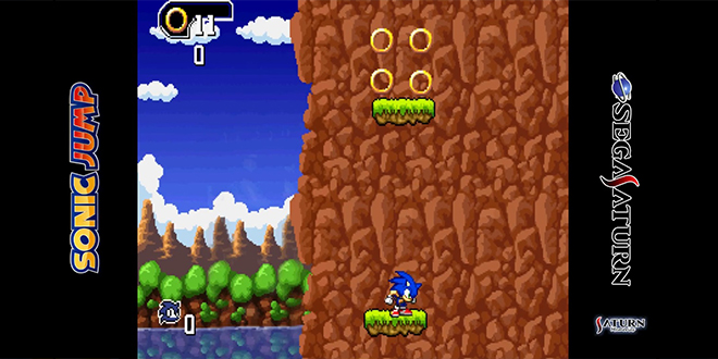 Sonic Jump for Sega Saturn