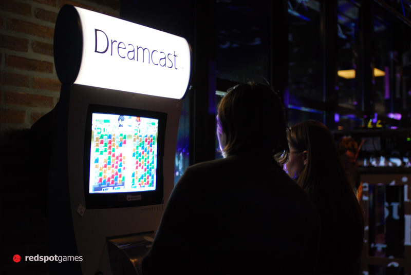 W&W at Digital Analog running on an official Sega Dreamcast Kiosk