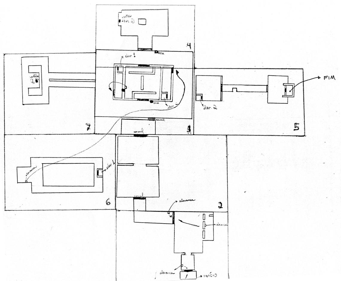 Design of the Duke Nuken 3D maps for Sega Genesis.
