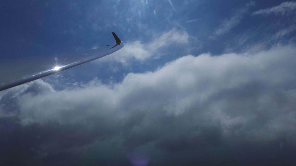 Sontra Segelflug Über den Wolken