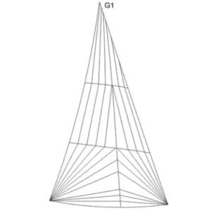 20m² Jollenkreuzer 18,6m² Genua 1 Produktbild