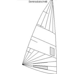Produktbild Pirat Regatta Großsegel Semiradial