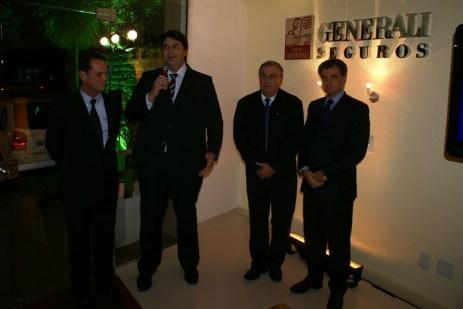 Inauguração da nova sede da Generali em POA