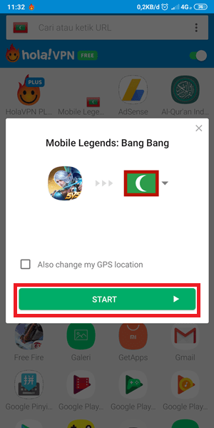 vpn mobile legend