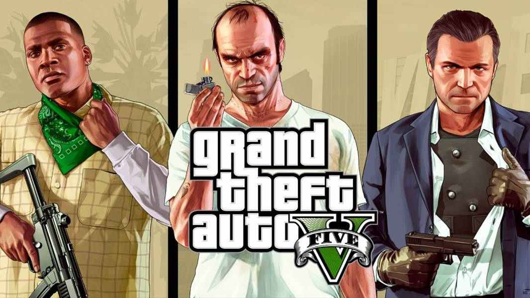 Download Game GTA PPSSPP : SA, Vice city, V dll