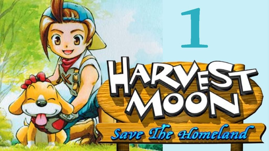 Game PS2 Harvest Moon Save the Homeland