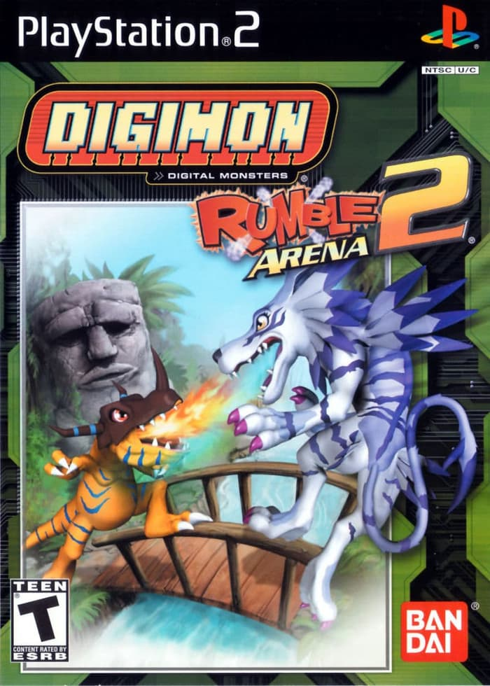 Game PS2 Android Digimon Rumble Arena 2