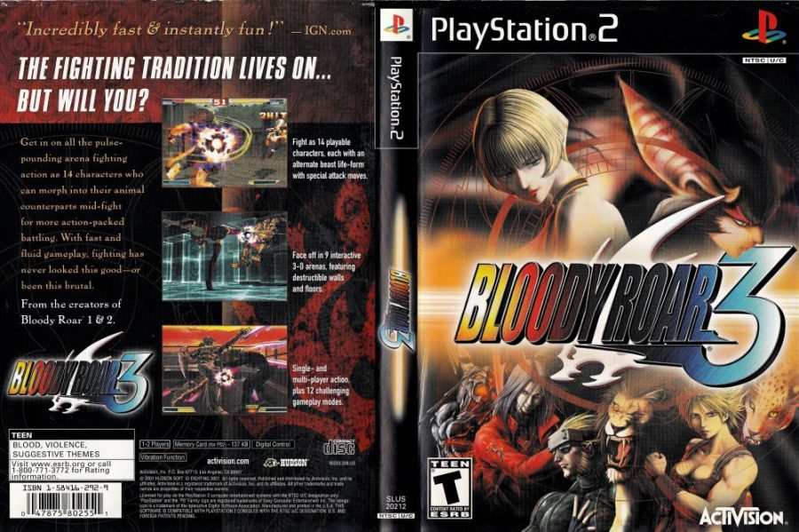 Game PS2 Android Bloody Roar 3