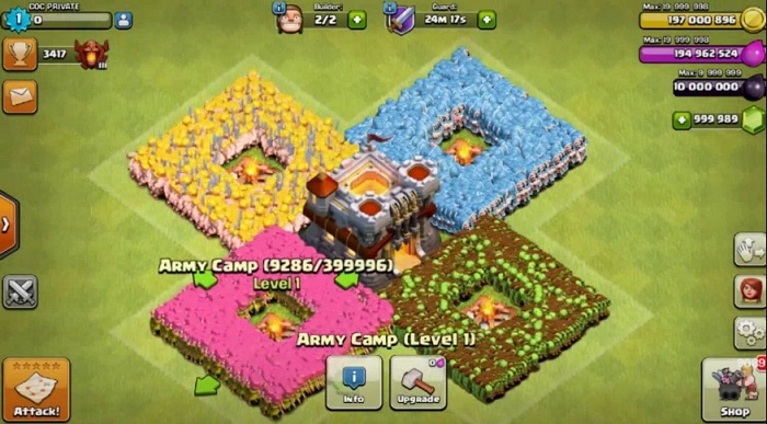terbaru clash of clans
