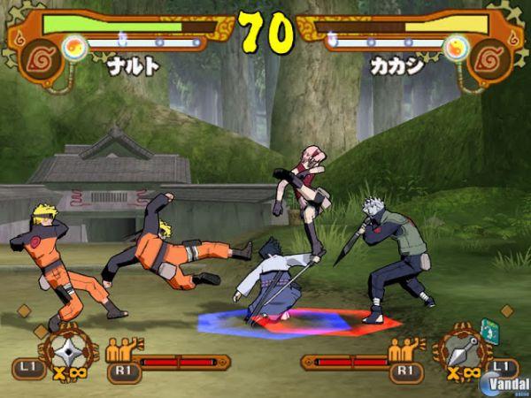 game ps2 naruto