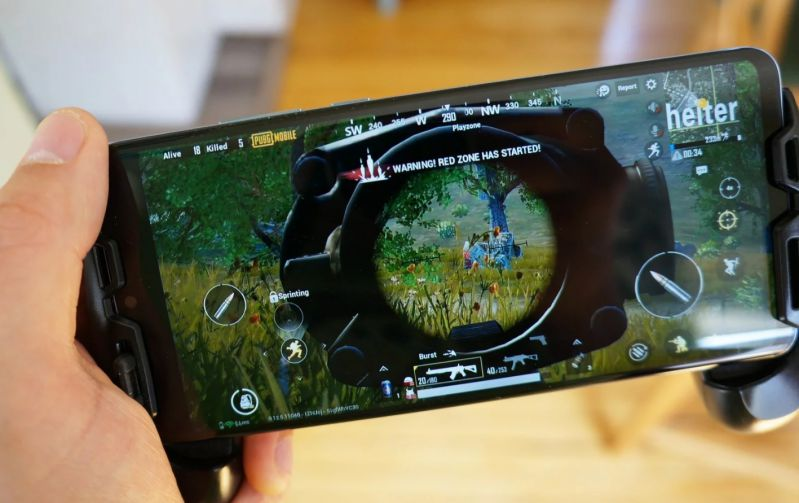 gyroscope PUBG Mobile