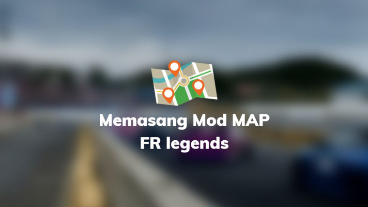 memasang mod map fr legends