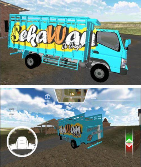 Livery ES Truck Simulator Sekawan Fixed
