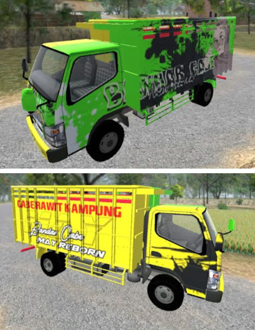 Cabe truck Hijau kuning