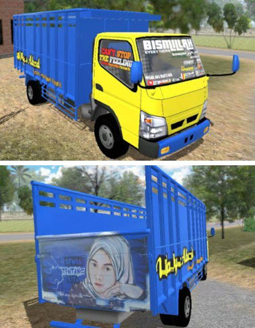 Livery Truck ESTS Wahyu Abadi