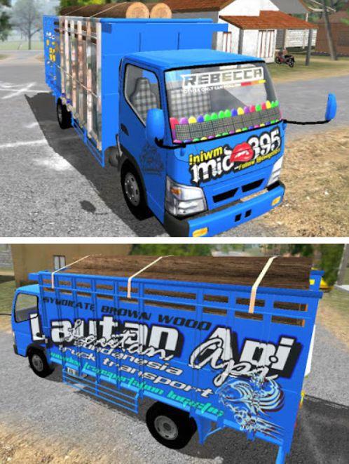 Truck ESTS Lautan Api
