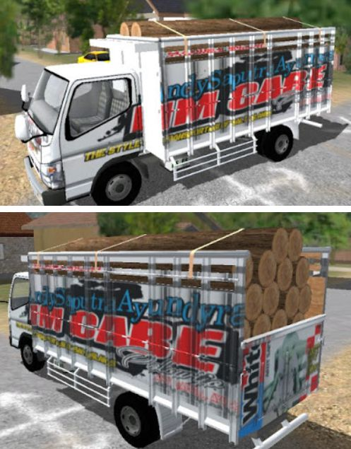 Livery HP Cabe White