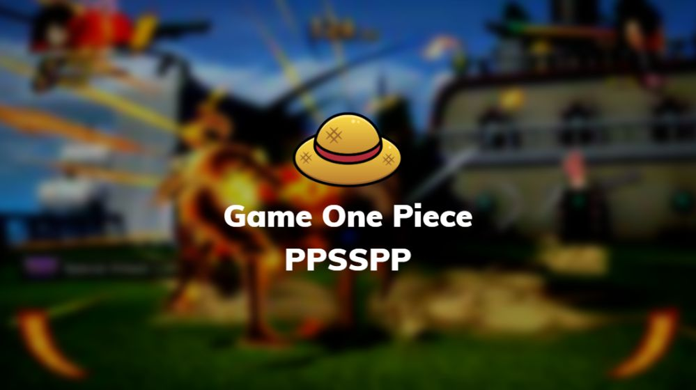 game ppsspp one piece