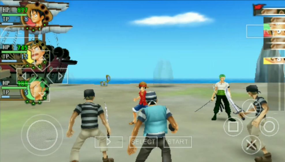 game android ppsspp one piece terbaik