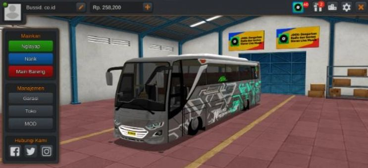 Mod Bussid Bus JB3 MD