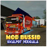 2. Mod Bussid Canter Knalpot Serigala Lengkap