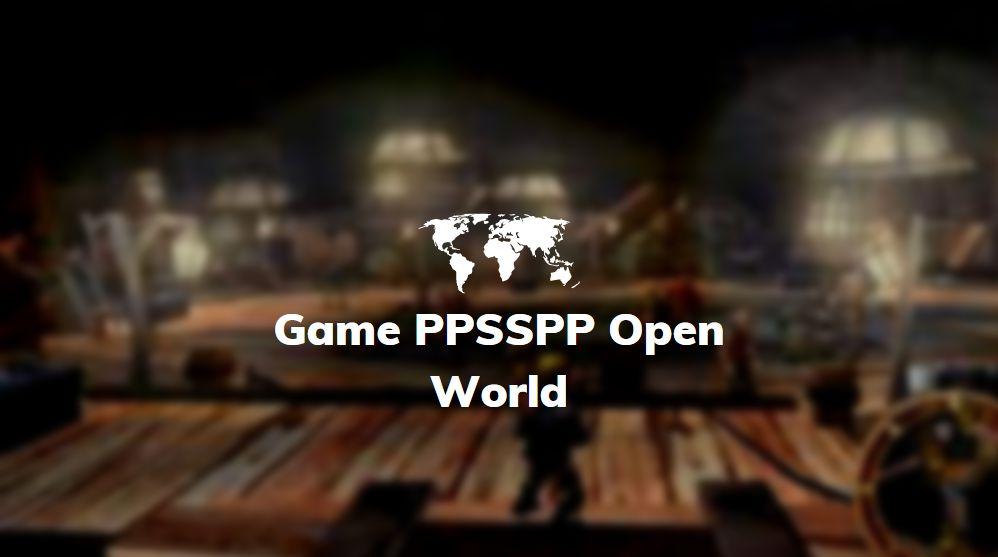 game psp open world