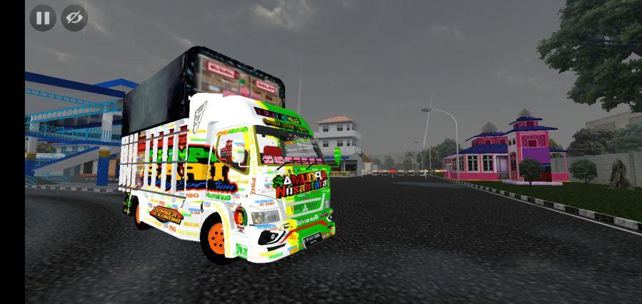 Mod Bussid Truck oleng