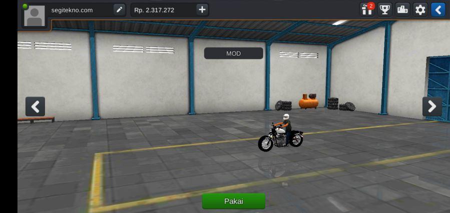 Mod Moge Harley Davidson