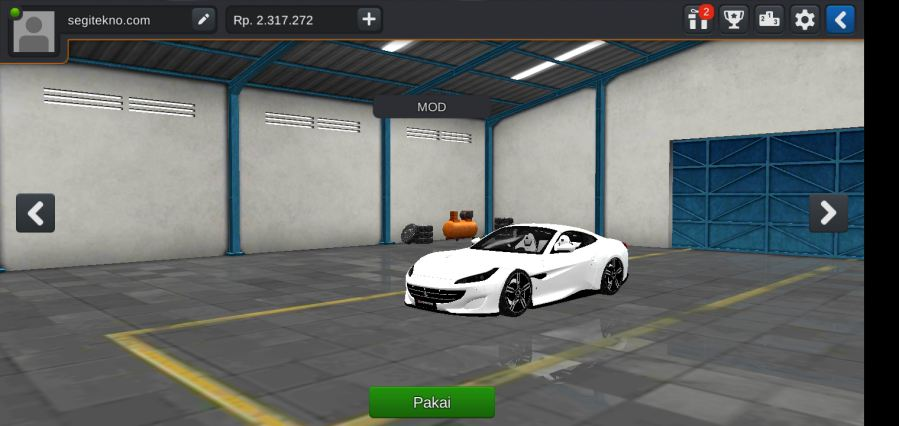 Download Mod Bussid Mobil ferarri