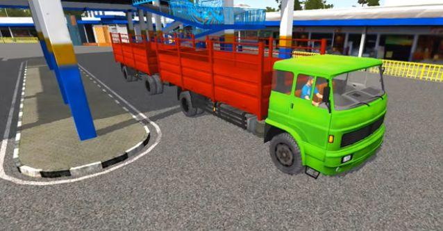 Mod Truck Trailer Bussid
