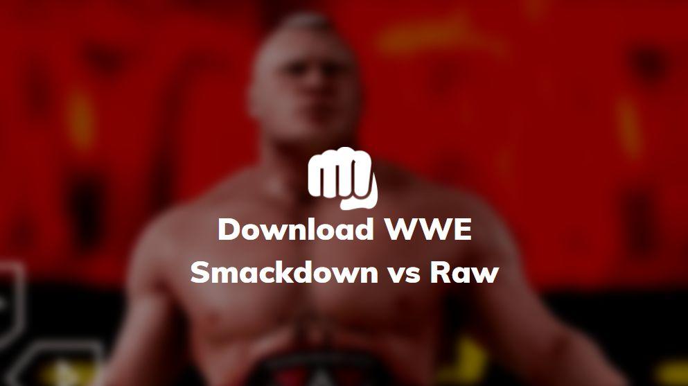 download wwe smackdown vs raw