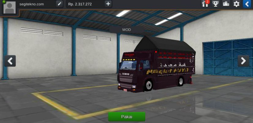 Mod Bussid Truck canter