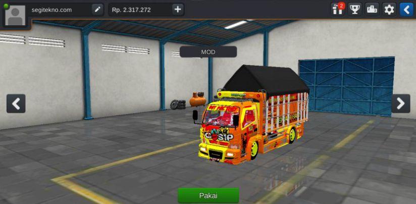 mod bussid truck anti gosip