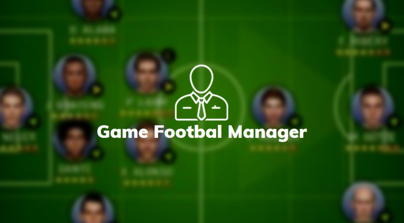 game footbal manager