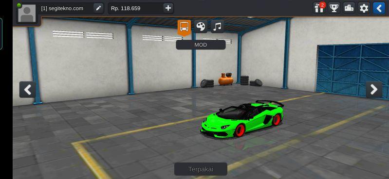 Download Mod Bussid Mobil lamborghini