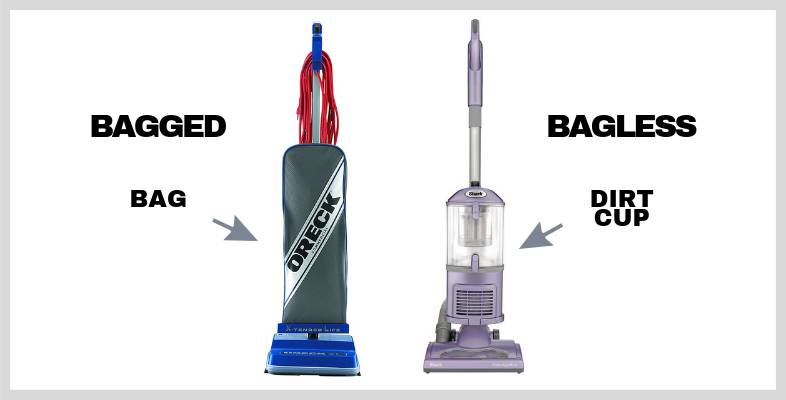bagged vs bagless vacuum cleaners