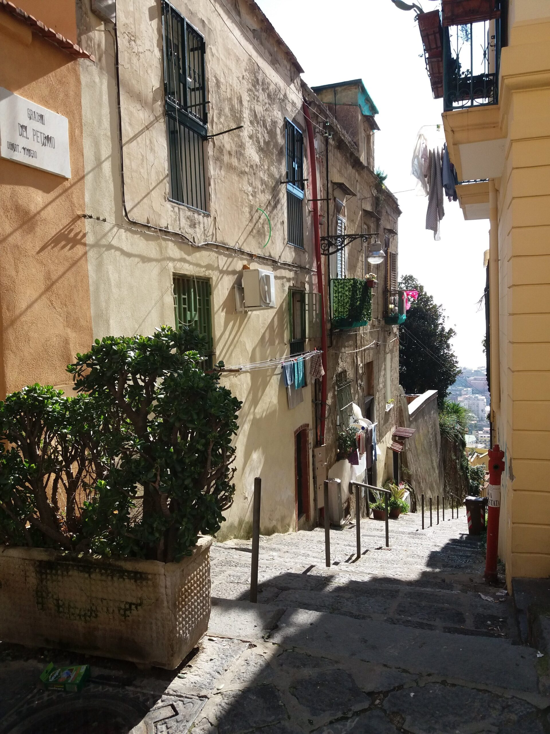 gradoni del petraio Napoli