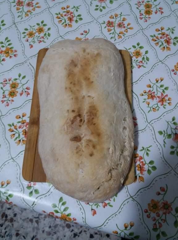 Pane casalingo con il criscito