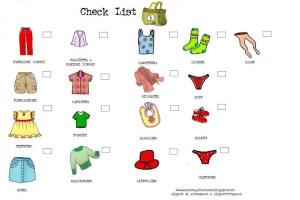 lista di viaggio cosa portare quando si viaggia con i bambini