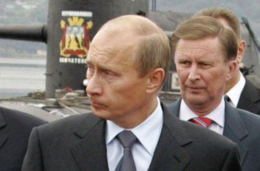 Znalezione obrazy dla zapytania сергей иванов путин