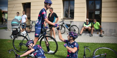Our guys show themselves at the last stage of the Czech Tour