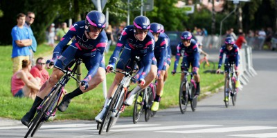 Sixth place in the opening TTT at the Czech Tour