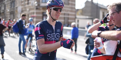 Cees Bol takes second in the day and moves to third in GC