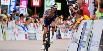 How did Adam Hartley start in cycling?