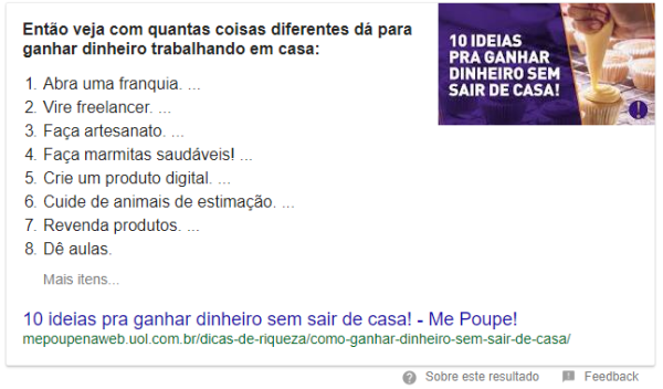 Como aparecer no Google Featured Snippet