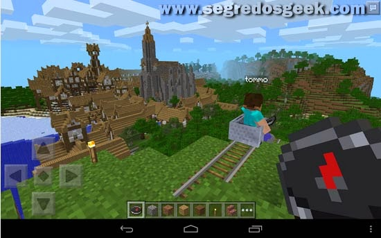 Minecraft: Pocket Edition para Android.